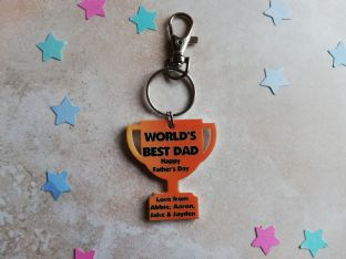 World's Best Dad Father's Day Trophy Kerying